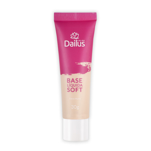 Base Líquida Soft  02 Nude Dailus 30g
