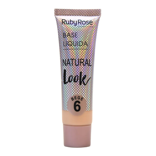 Hb-8051 Base Natural Look Cor Bege 6 Ruby Rose