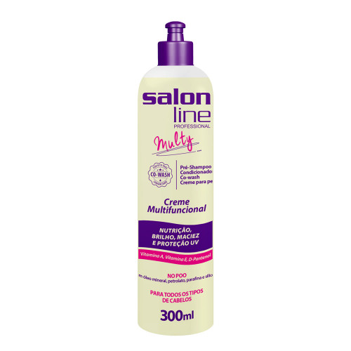 Creme Multifuncional Multy Salon Line 300ml