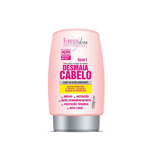 Leave-in Desmaia Cabelo Forever Liss 150G