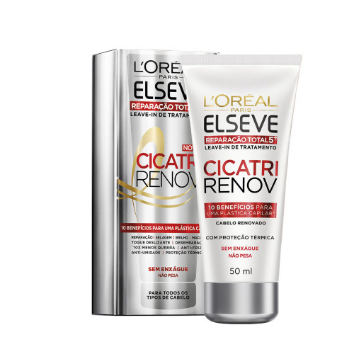 Leave In De Tratamento Elseve Cicatri Renov 50ML