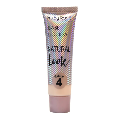 Hb-8051-1 Base Natural Look Cor Nude 4 Ruby Rose