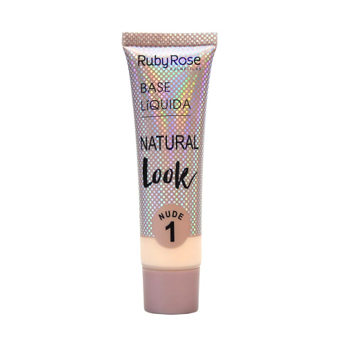Hb-8051-1 Base Natural Look Cor Nude 1 Ruby Rose