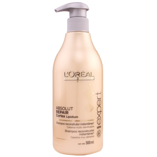 Shampoo Absolut Repair Cortex Lipidium Reconstrutor L'Oréal Professionnel 500ml