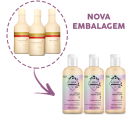 Kit Escova Progressiva Alemã Ghair 3 X 300ml