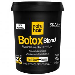Botox Blond Natu Hair Skafe 210g