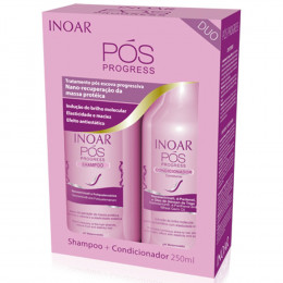 Kit Duo Shampoo + Condicionador Pós Progress Inoar 250ML