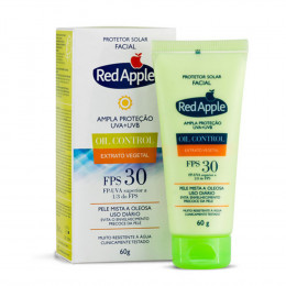 Red Apple Fps30 Bloqueador Facial Mista/oleosa 60g