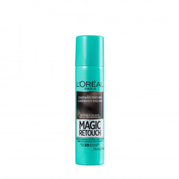 Retoque de Raiz L'Oréal Magic Retouch Castanho Escuro Spray 75ml