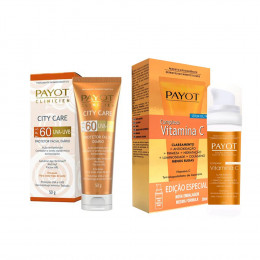 Kit 1 Complexo de Vitamina C 30ML + 1 City Care 50G Payot