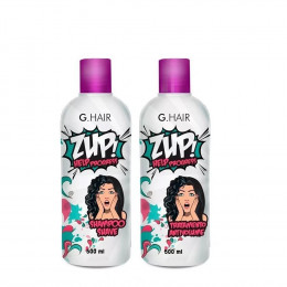 ZUP ESCOVA PROGRESSIVA G HAIR INOAR HELP PROGRESS 2 X 500ML
